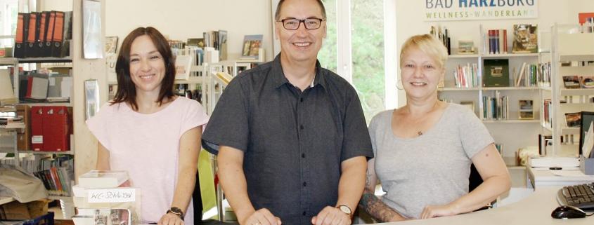 Das Team der Stadtbücherei Bad Harzburg.